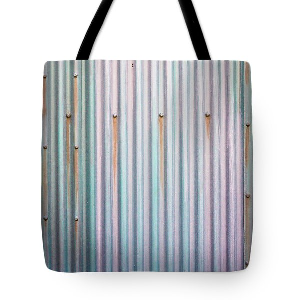 Metal Background Tote Bag by Tom Gowanlock