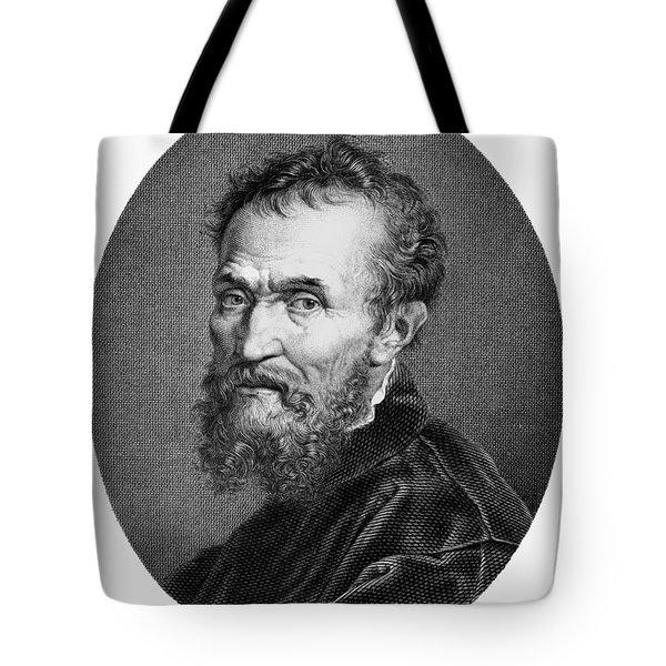 Michelangelo (1475-1564) Tote Bag by Granger