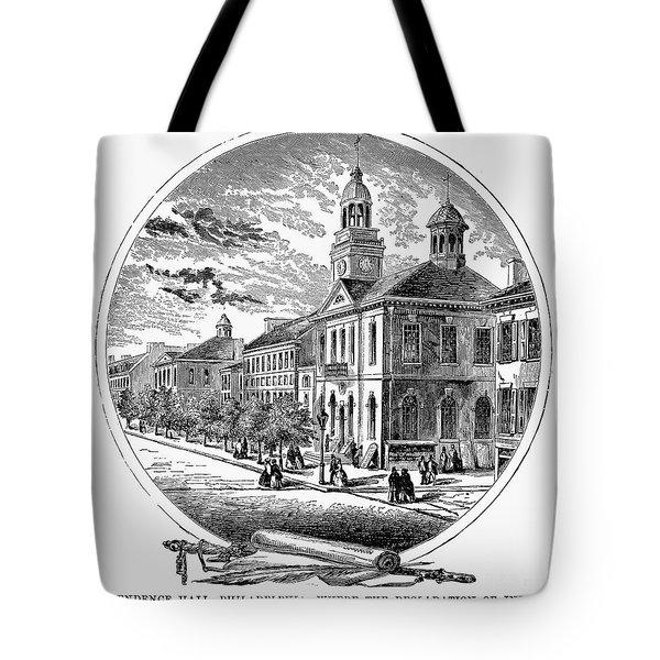 Philadelphia State House Tote Bag by Granger
