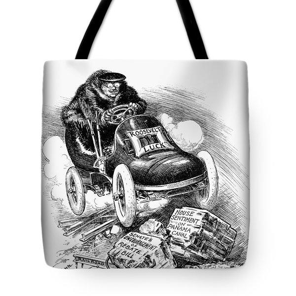 Roosevelt Cartoon, 1906 Tote Bag by Granger