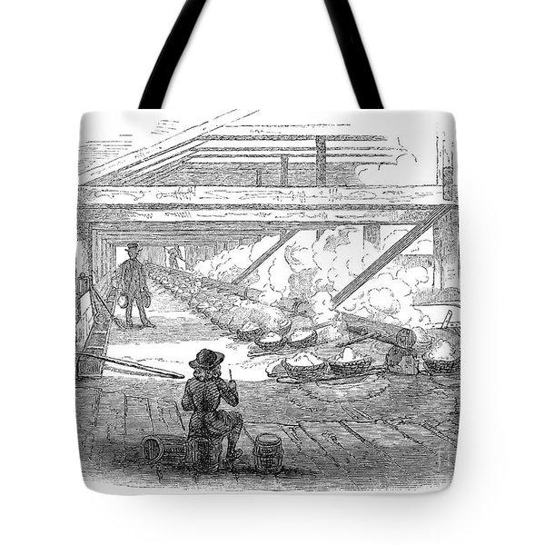 Slave Labor, 1857 Tote Bag by Granger