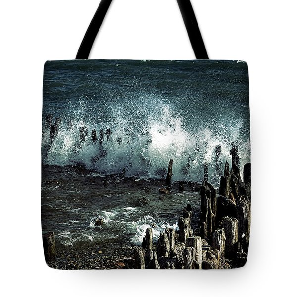 Waves Tote Bag by Joana Kruse