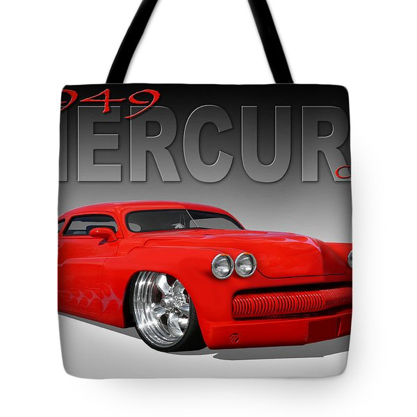 49 Mercury Coupe Tote Bag by Mike McGlothlen