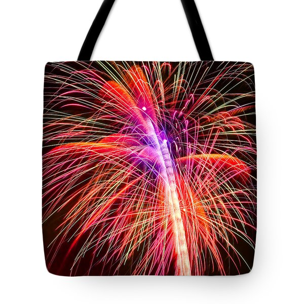 4th Of July - Independence Day Fireworks Tote Bag by Gordon Dean II