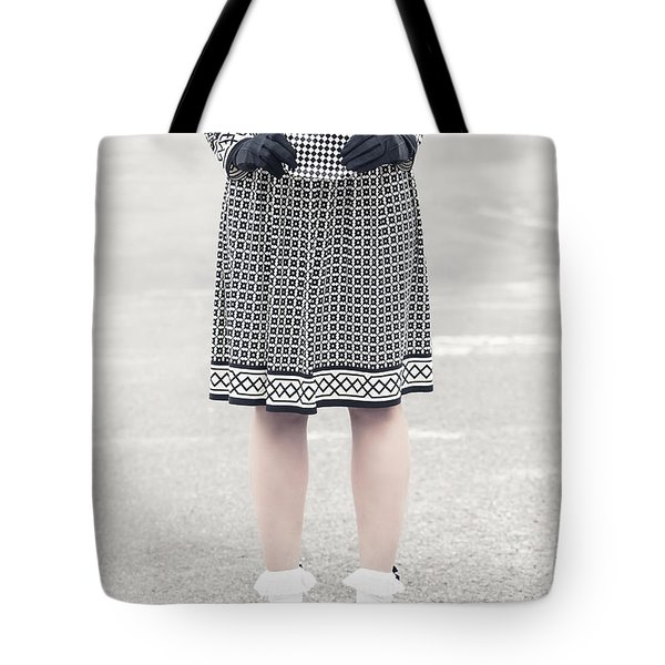 Black And White Tote Bag by Joana Kruse