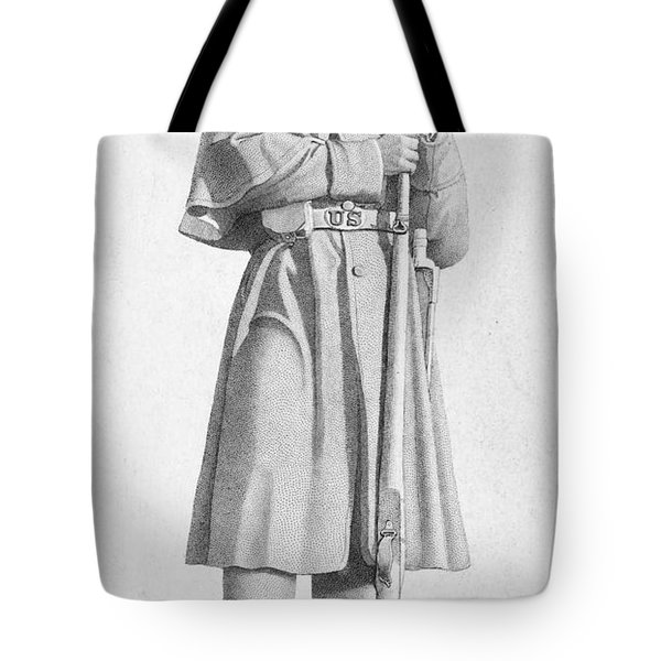 Civil War: Soldier Tote Bag by Granger
