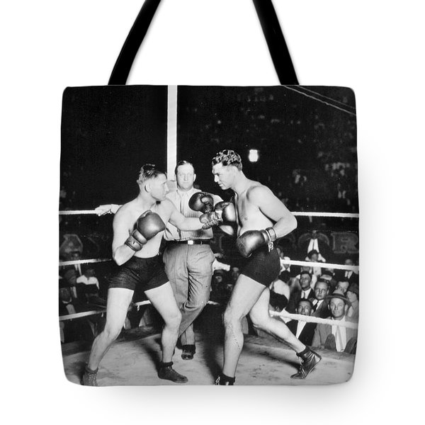 Jack Dempsey (1895-1983) Tote Bag by Granger