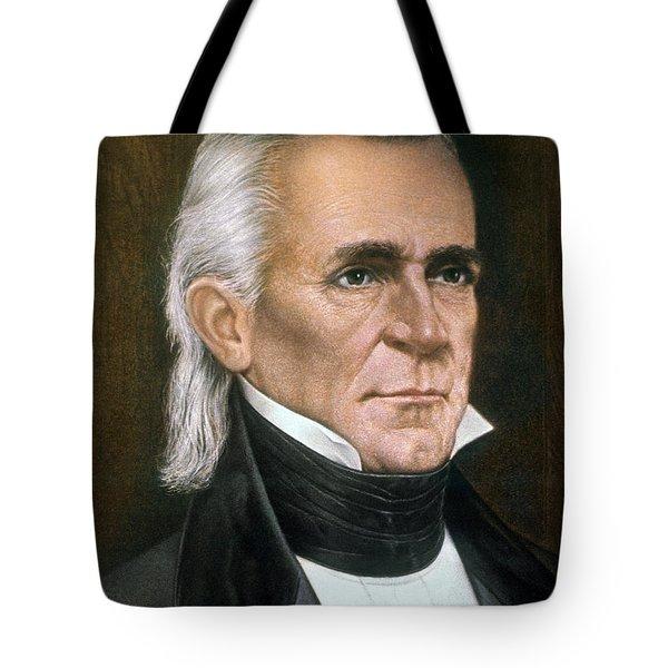 James K. Polk (1795-1849) Tote Bag by Granger