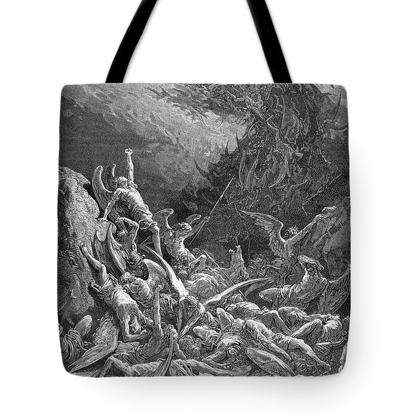Milton: Paradise Lost Tote Bag by Granger