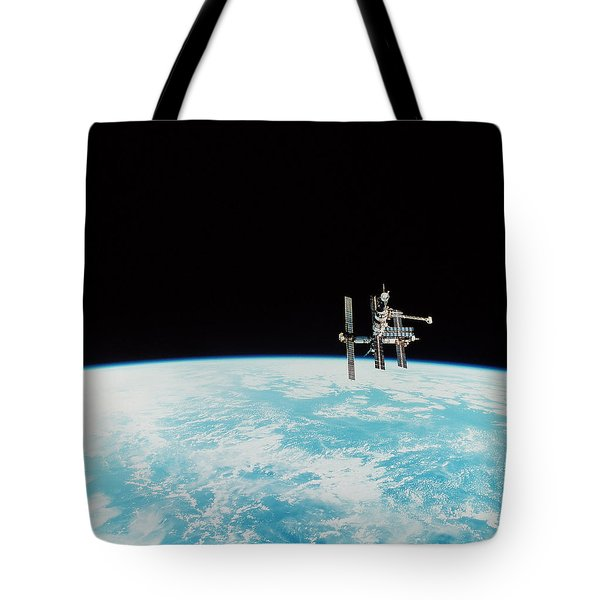 Mir Space Station Tote Bag by Nasa