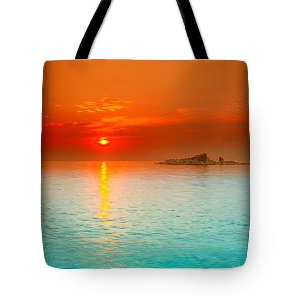Sunrise Tote Bag by MotHaiBaPhoto Prints