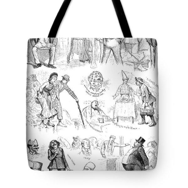 Centennial Fair, 1876 Tote Bag by Granger