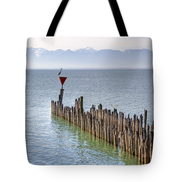 Lake Constance Tote Bag by Joana Kruse