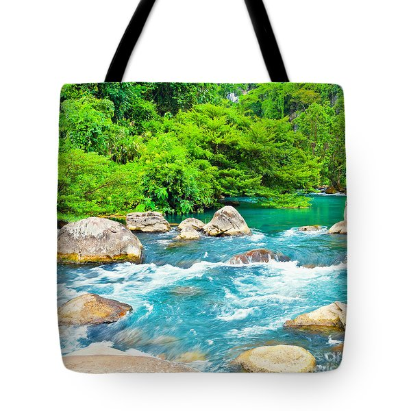 Stream  Tote Bag by MotHaiBaPhoto Prints