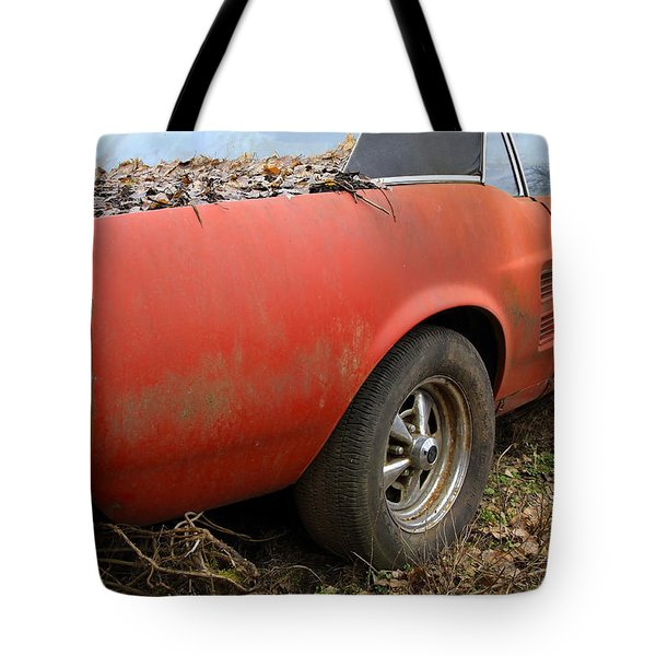 68 Stang Tote Bag by Steve McKinzie