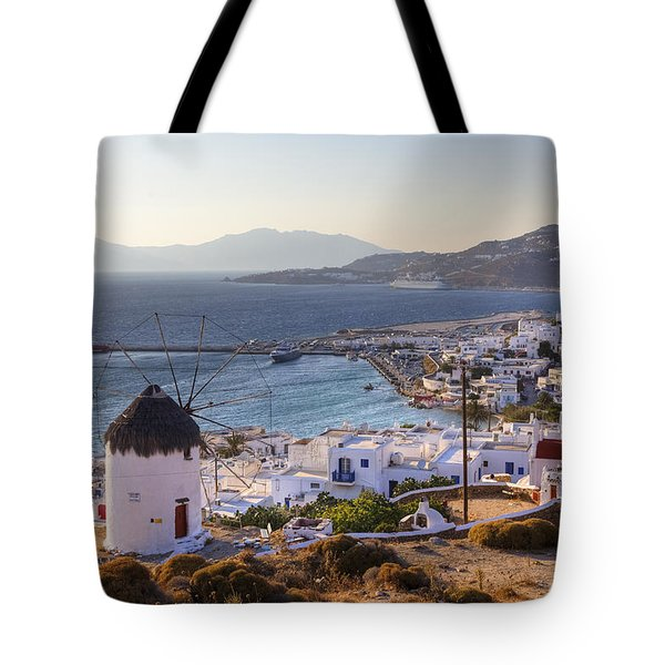 Mykonos Tote Bag by Joana Kruse