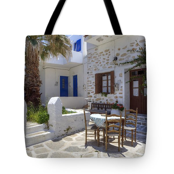 Paros - Cyclades - Greece Tote Bag by Joana Kruse