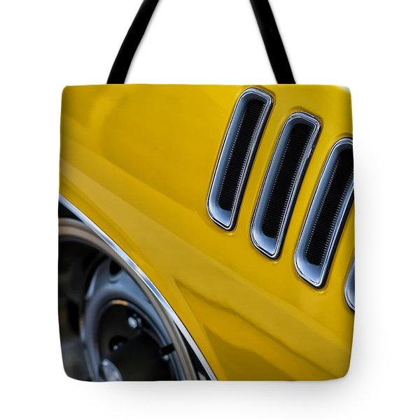 '71 440  'cuda  Tote Bag by Gordon Dean II