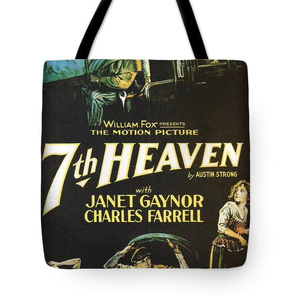 7th Heaven Tote Bag by Nomad Art And  Design