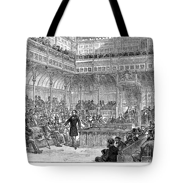 Benjamin Disraeli (1804-1881) Tote Bag by Granger