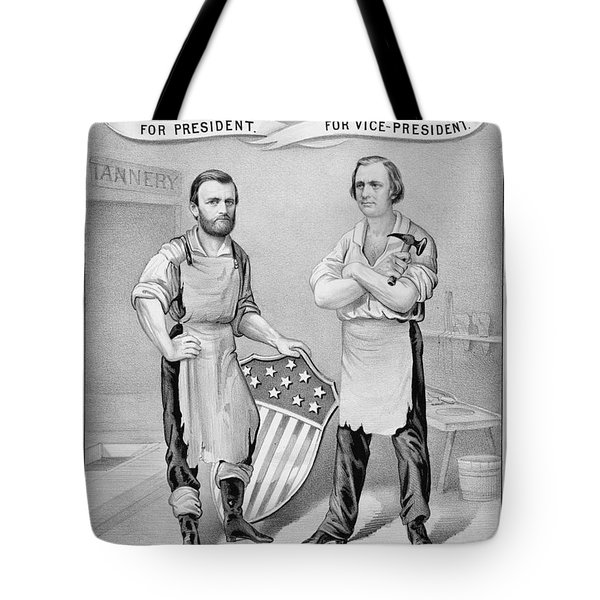 Presidential Campaign, 1872 Tote Bag by Granger