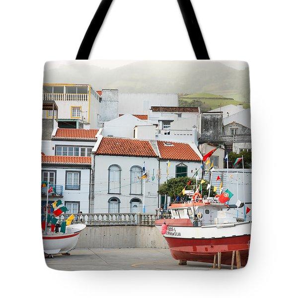Vila Franca Do Campo Tote Bag by Gaspar Avila