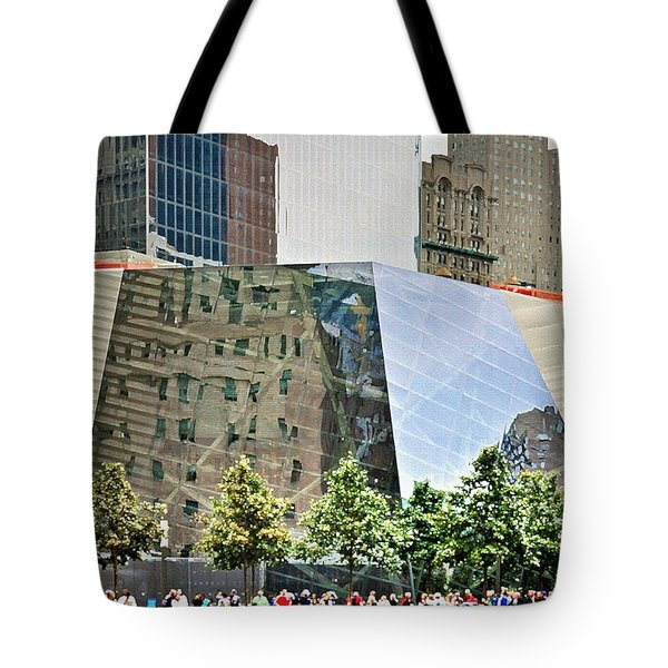 9/11 Memorial Tote Bag by Gwyn Newcombe
