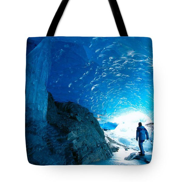 Alaska, Juneau Tote Bag by John Hyde - Printscapes