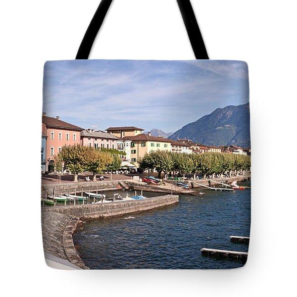 Ascona - Ticino Tote Bag by Joana Kruse