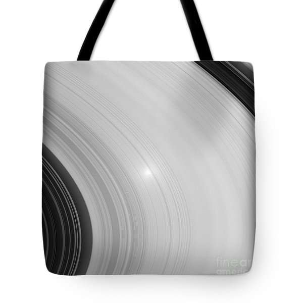 Saturns Rings Tote Bag by NASA / Science Source