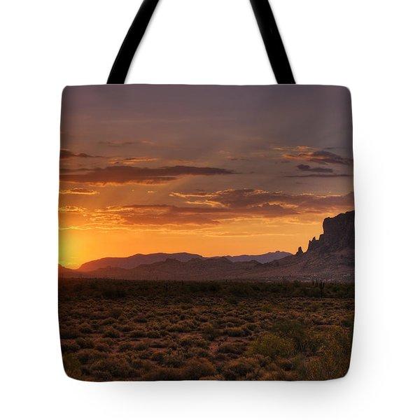 A Bit Of Desert Beauty  Tote Bag by Saija  Lehtonen
