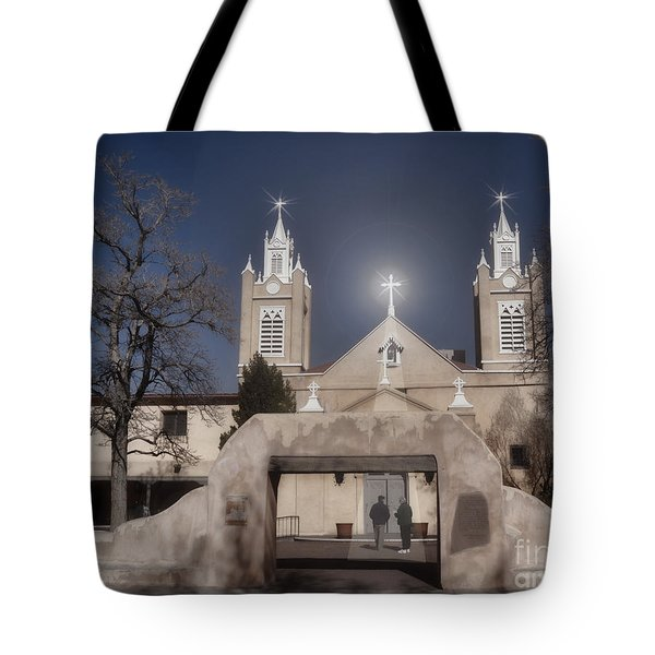 A Blessed Couple Tote Bag by Donna Greene