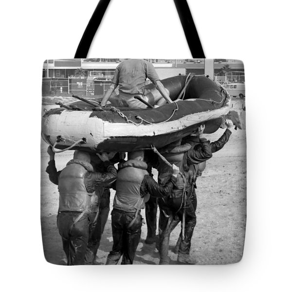 A Buds 1st Phase Boat Crew Carry An Tote Bag by Michael Wood
