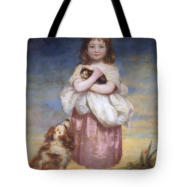 A Child Tote Bag by James Northcore