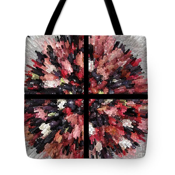 A City Of The Future Tote Bag by Ausra Huntington nee Paulauskaite