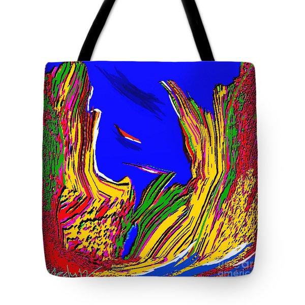A Coastal View Tote Bag by Nedunseralathan R
