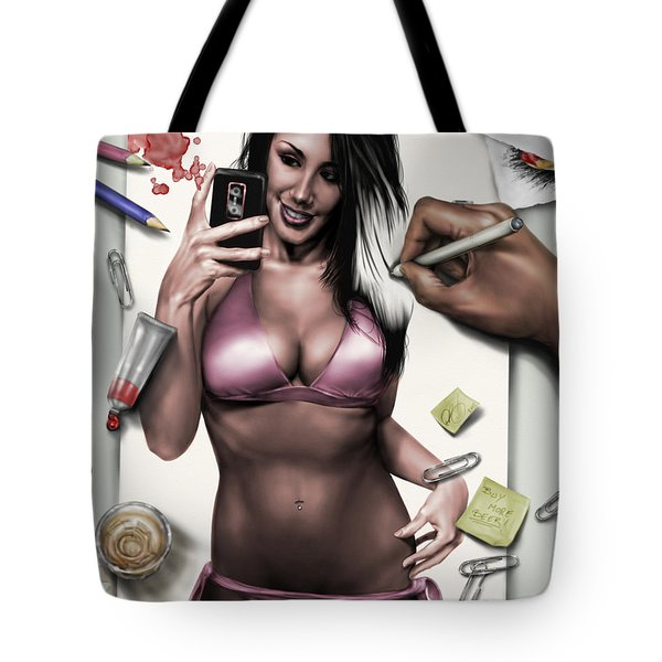 A Day In The Life Tote Bag by Pete Tapang