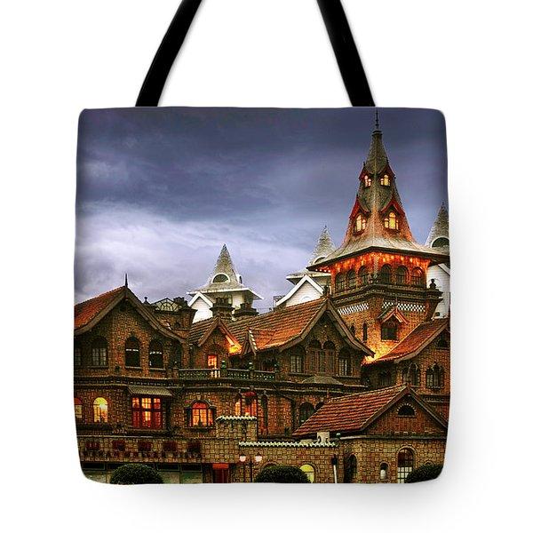A Fairytale - Eric Moller Villa Shanghai Tote Bag by Christine Till