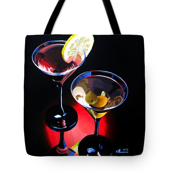 A Hint Of Lemon And Olives Tote Bag by Kayleigh Semeniuk