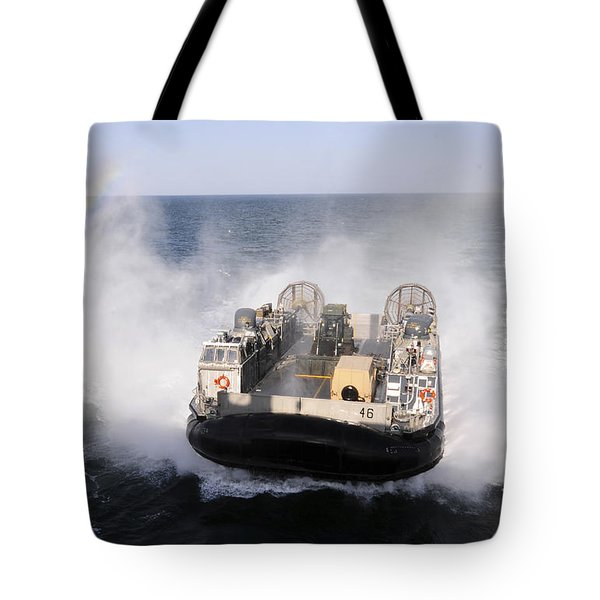 A Landing Craft Utility From Assault Tote Bag by Stocktrek Images