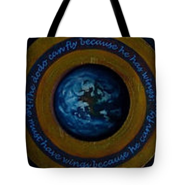 A Leap Of Face Tote Bag by Patrick Anthony Pierson