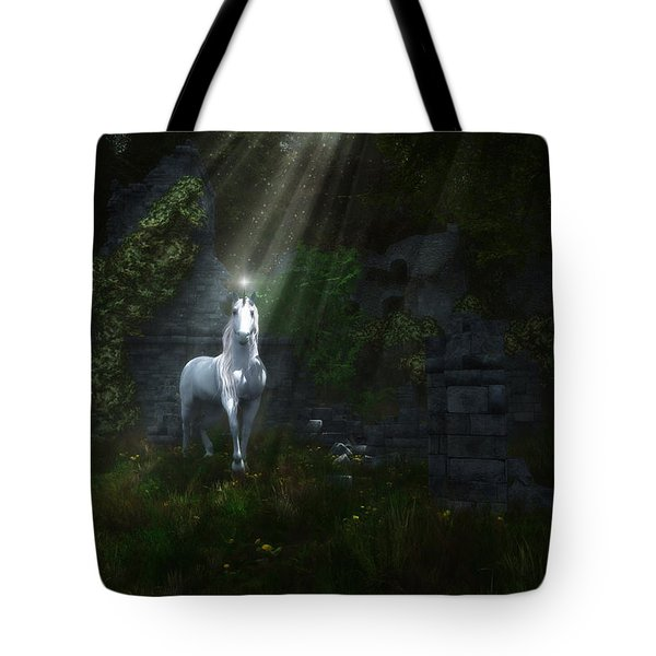 A Light In The Darkness Tote Bag by Melissa Krauss
