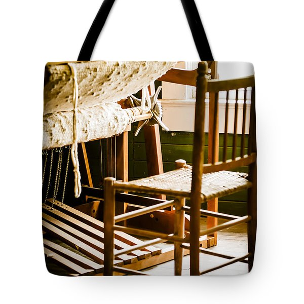 A Loom For Grandma Tote Bag by Carolyn Marshall