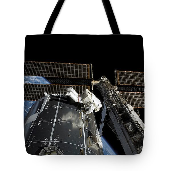 A Panoramic View Of The International Tote Bag by Stocktrek Images