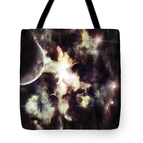 A Parallel Universe So Thin Youre Able Tote Bag by Tomasz Dabrowski
