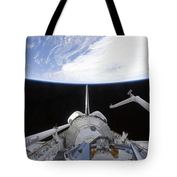 A Partial View Of The Tranquility Node Tote Bag by Stocktrek Images
