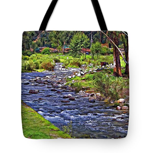 A Place Without Time Tote Bag by Steve Harrington