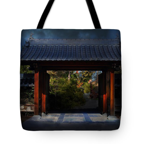A Samurai.s Menagerie . 7D12779 Tote Bag by Wingsdomain Art and Photography
