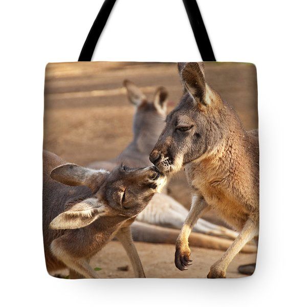 A Show Of Respect Tote Bag by Bob and Nancy Kendrick