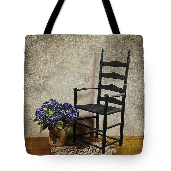 A Simpler Time Tote Bag by Judi Bagwell
